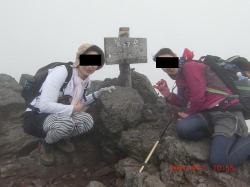 2010年9月2日羅臼岳_1