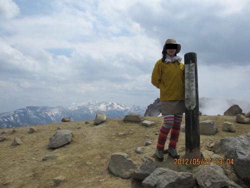 2010年9月焼岳(写真は2012年5月27日)_1