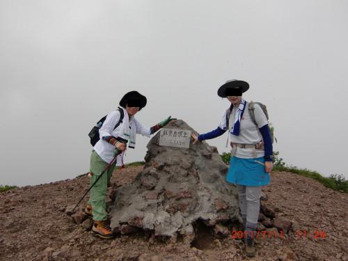 2011年7月11日斜里岳_1