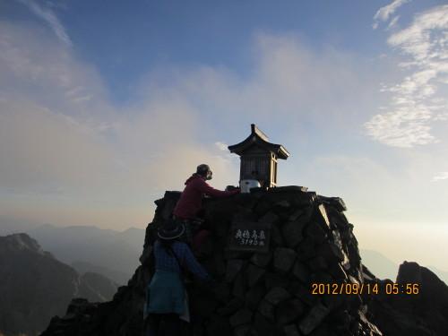 2012年9月14日奥穂高岳_1