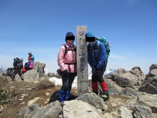 2014年5月4日谷川岳_1