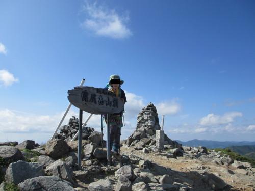 2014年7月8日幌尻岳_1