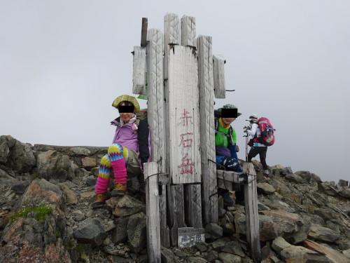 2014年8月20日赤石岳_1