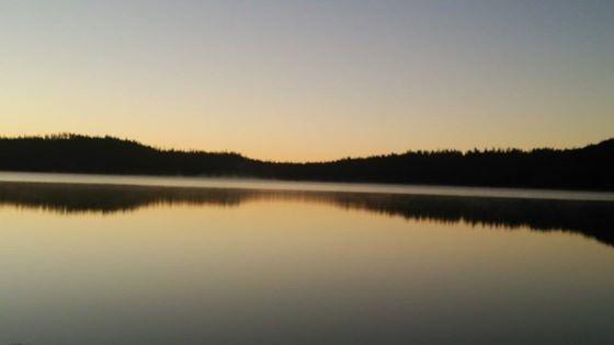 メディスンレイクの夜明け2014A