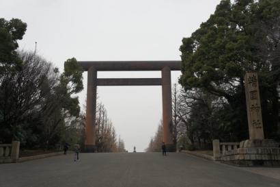 靖国神社へやってきました