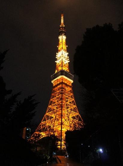 東京タワー 全体