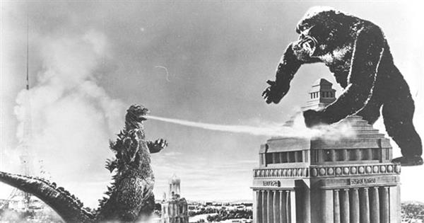 Godzilla Vs Anguirus Rodan And King Caesar どんぐりこ - 海�...
