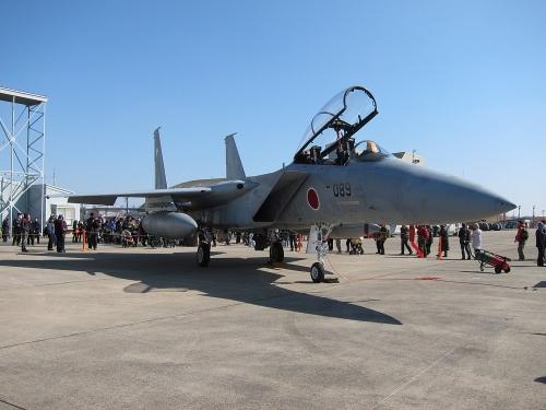 小牧オープンベース 展示機(F-15)