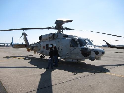 小牧オープンベース 展示機(SH-60K)