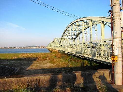 木曽川川上り 尾張大橋