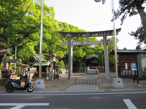 木曽川川上り 堤治神社