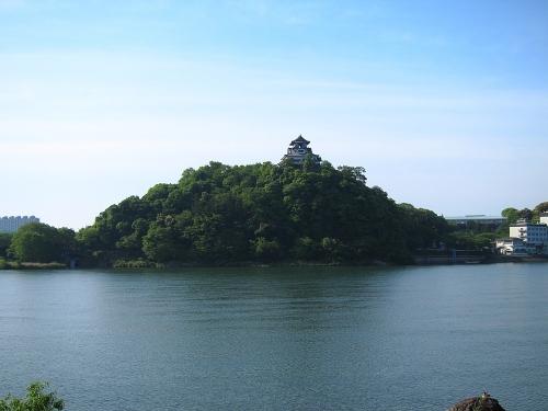 木曽川川上り 犬山城