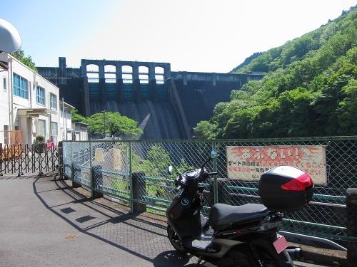 木曽川川上り 丸山ダム