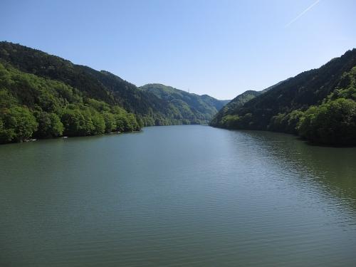 木曽川川上り 丸山蘇水湖