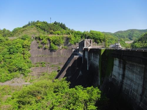 木曽川川上り 丸山ダムと展望台