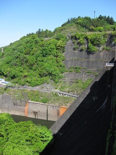 木曽川川上り 丸山ダムと展望台2