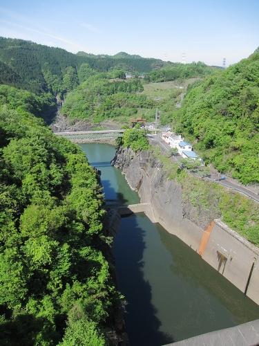 木曽川川上り 丸山ダム2