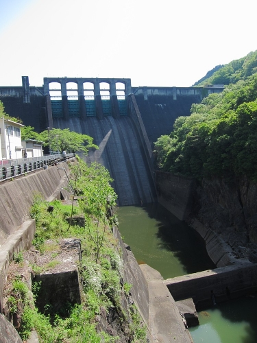 木曽川川上り 丸山ダム3