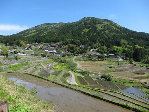 木曽川川上り 坂折棚田2