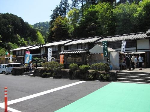 木曽川川上り 道の駅賎母