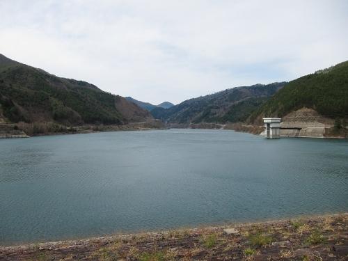 木曽川川上り 奥木曽湖