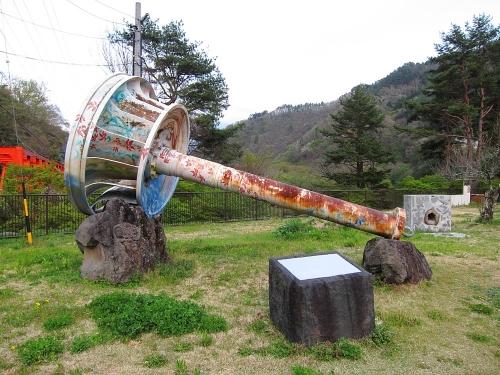 木曽川川上り 道の駅三岳 水車ランナ