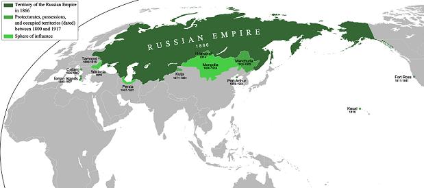 ロシアの植民地