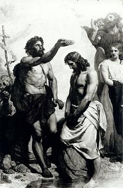 洗礼者ヨハネとイエス