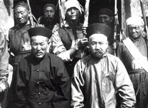 清朝末期の満州族の武人たち