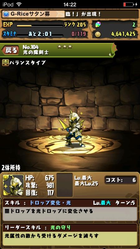 光の魔剣士スキルMAX
