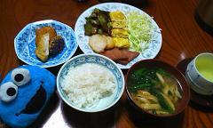 朝ごはんも沖縄色豊か