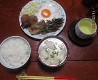 今朝はゆし豆腐