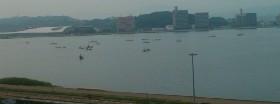 宍道湖と蜆漁と美術館