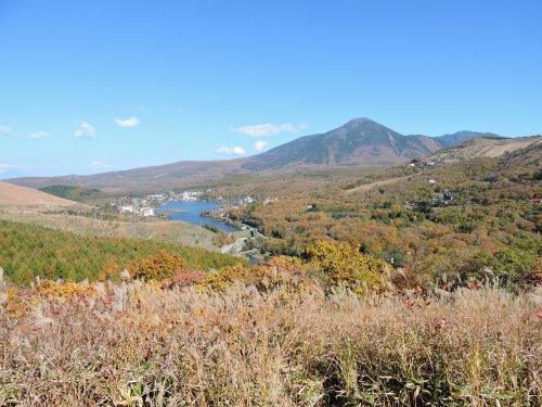 白樺湖紅葉