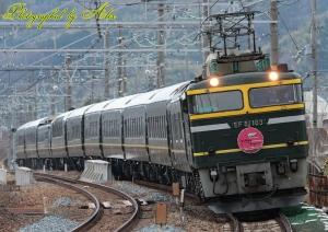 8001レ(=EF81-103牽引)
