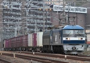 5085レ(=EF210-3牽引+EF66-33ムド)