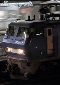 7082レ(=EF200-7牽引)