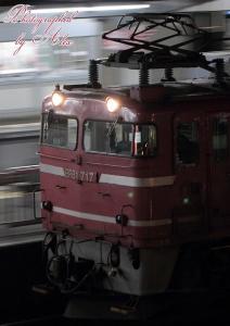 3093レ(=EF81-717牽引)