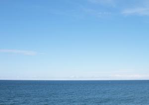 オホーツク海が美しく