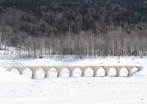 幻の橋・タウシュベツ川橋梁