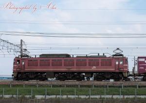4071レ(=EF81-716牽引)