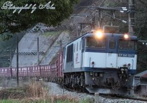 3082レ(=EF64-1017牽引)