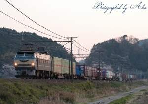 67レ(=EF66-27牽引)