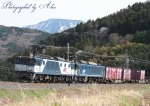 81レ(=EF64-1004+EF64-1049牽引)