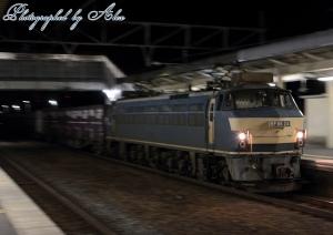5088レ(=EF66-24牽引)
