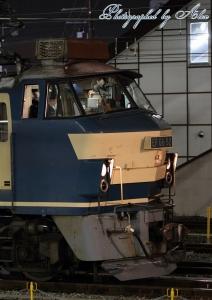 出発待ちのEF66-52
