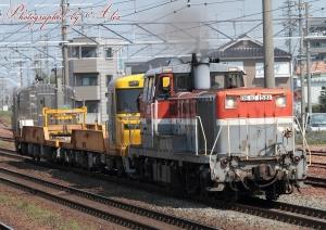 8660レ(=DE10-1581+キヤ97)