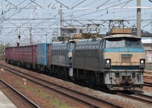 3091レ(=EF66-24+EF66-21牽引)