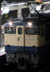工8380レ(=EF65-1133牽引)