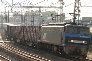 1051レ(=EF200-20牽引)